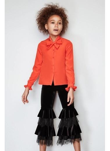 Lia Lea Kız Çocuk Turuncu Bluz Oranj